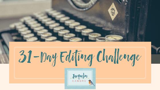 31-Day Editing Challenge