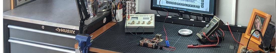 transistor Radio repair workbench