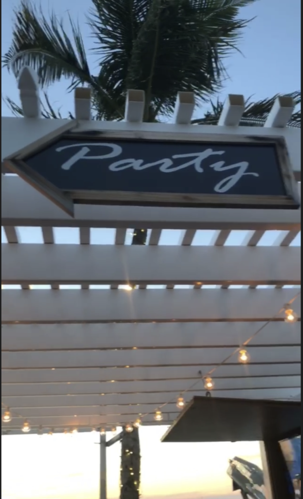 beach party for stone crabs