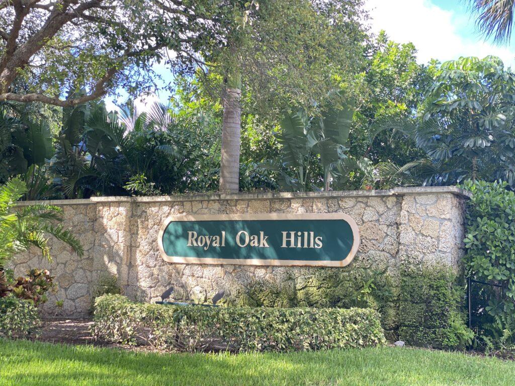 Royal Oak Hills Wall