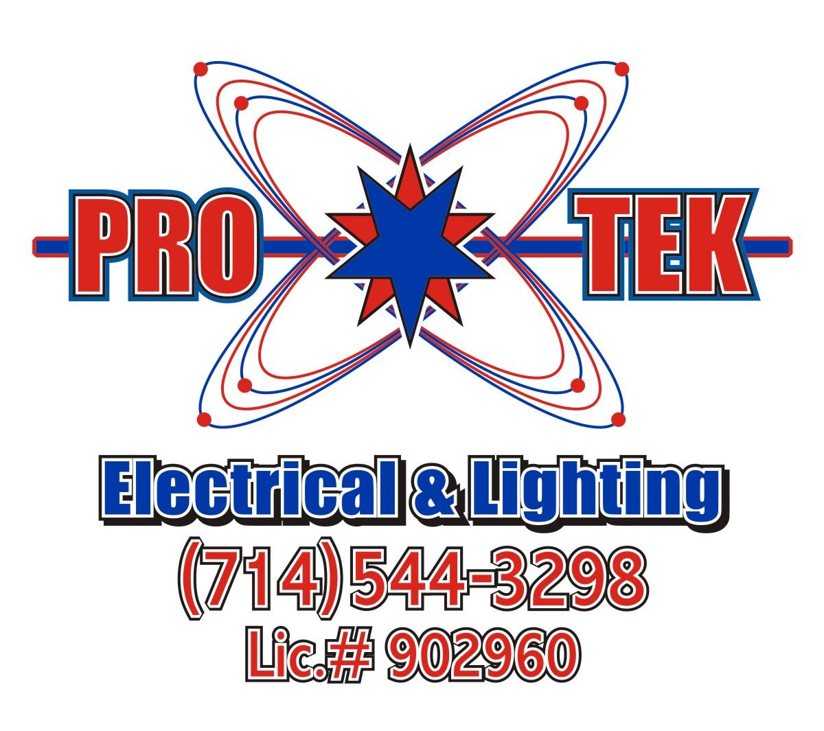Pro-Tek Electrical Final Logo White