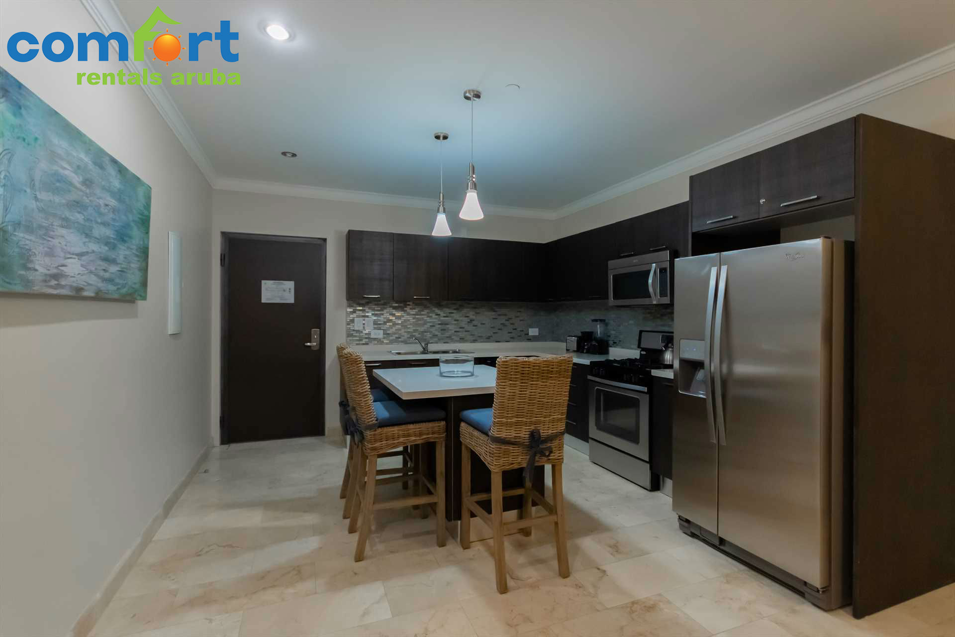 Prepare delicious meals in your fully equipped kitchen