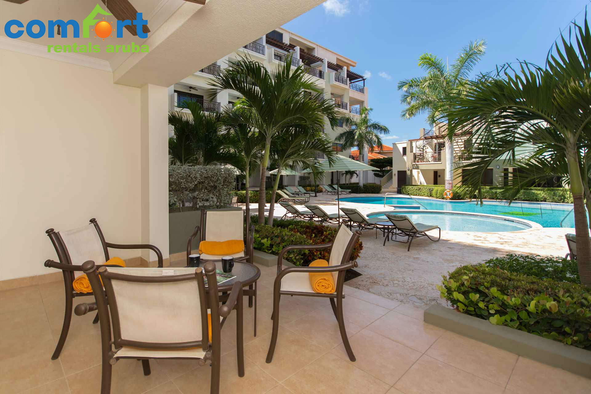 Enjoy your spacious private terrace