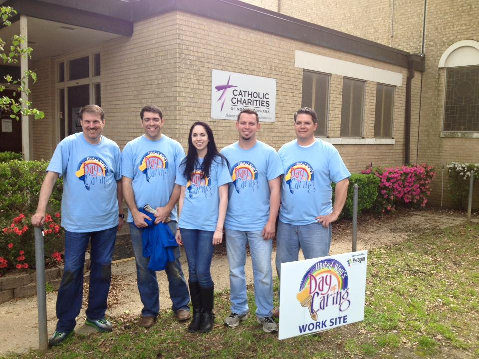 volunteers from day of caring ccnla shreveport