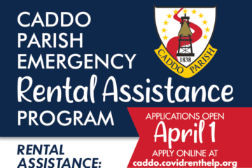 caddo parish rental assistance program opens april 1st