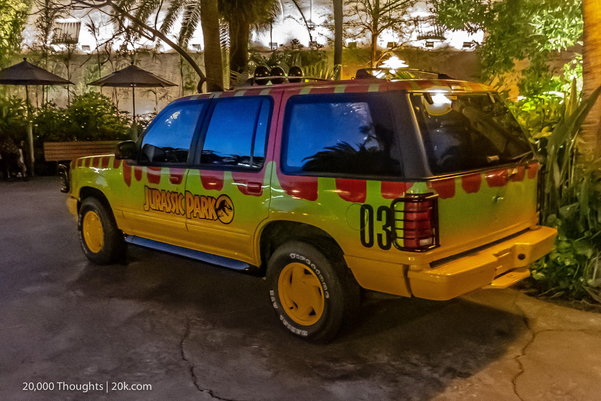 Universal Studios Osaka Jurassic Park Ford Explorer