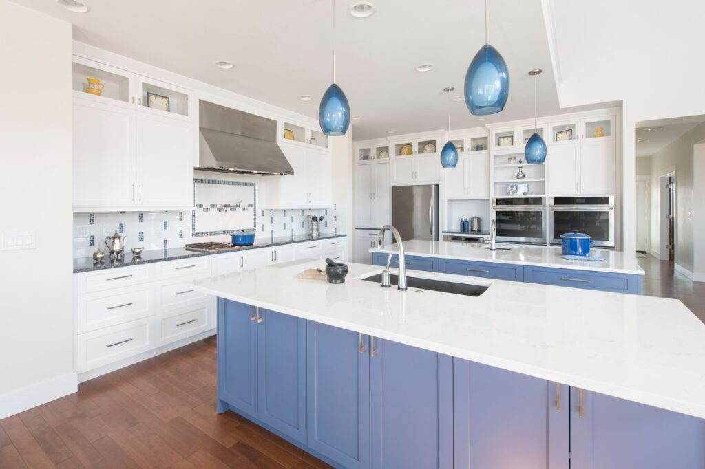 Colorful kitchen cabinets | Interior Design Trends of 2021