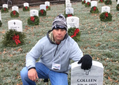 Mike Pollino's first fundraiser for Wreaths Across America