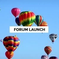 forum-launch
