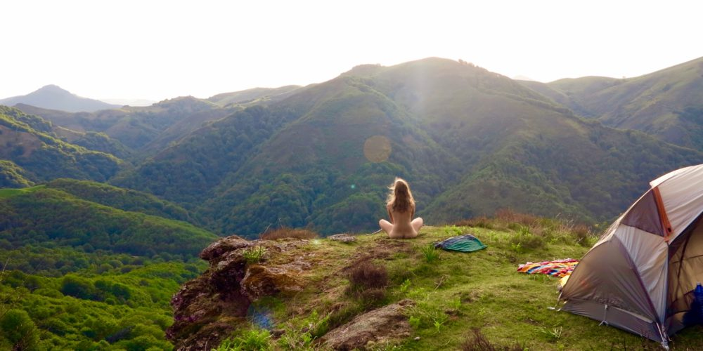 Naked Freedom in the Pyrenees
