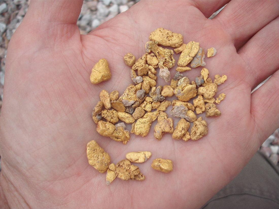 AZ gold find