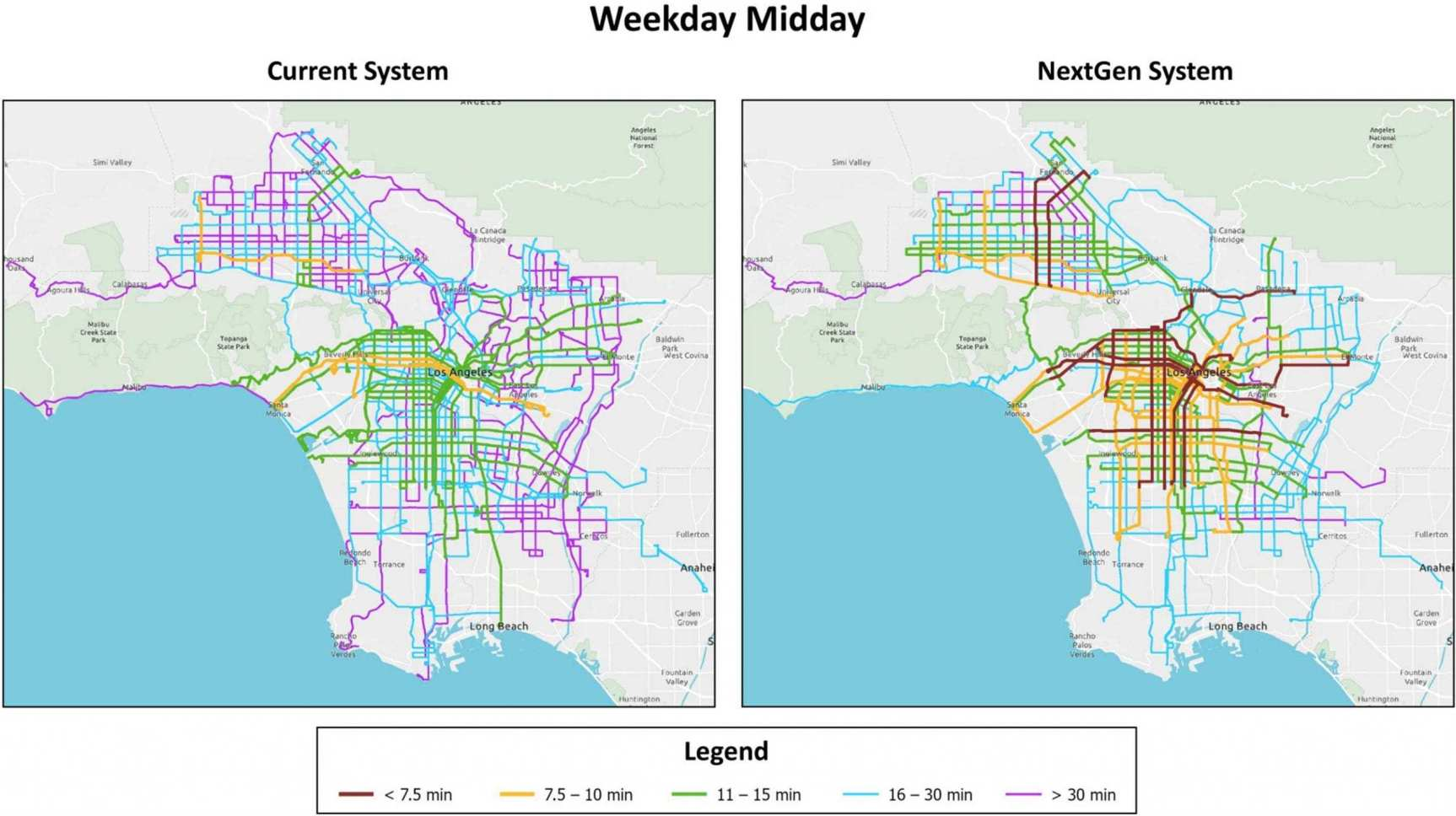 NextGen Plan to improve Metro Bus system is approved by agency's Board of Directors