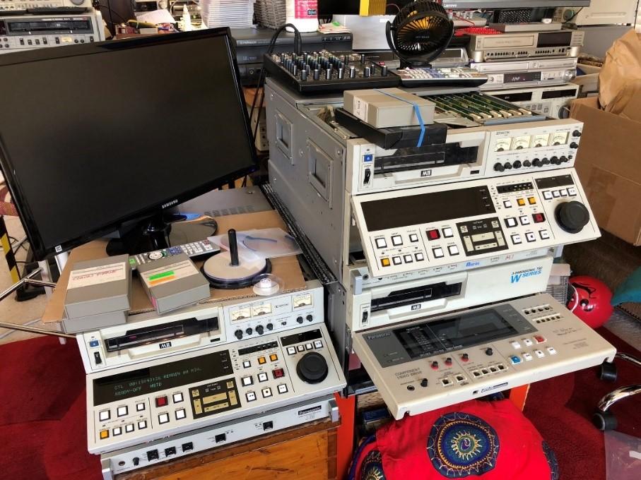 MII Tape Decks for capturing Pandora tapes
