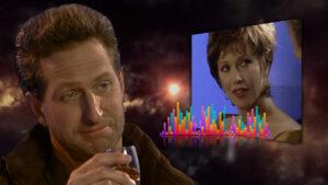 Article Thumbnail, Tex, Regan, and an Audio Waveform.