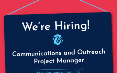 We're Hiring a Communications and Outreach Project Manager