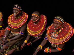 Women of the Pokot Tribe • ©Terri Gold