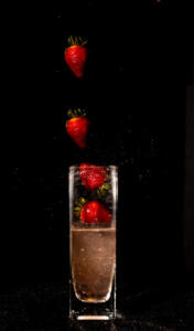 Strawberry Drop • Rhonda Spidell