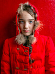 The Red Coat • Michele Zousmer