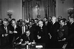 Segregated schools were discouraged - equality was encouraged.