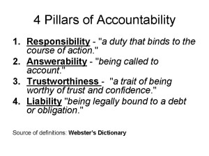 "Accountability for properly educating children requires personal responsibility on the part of all us. It isn't just about ""outcomes."""