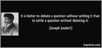 debate