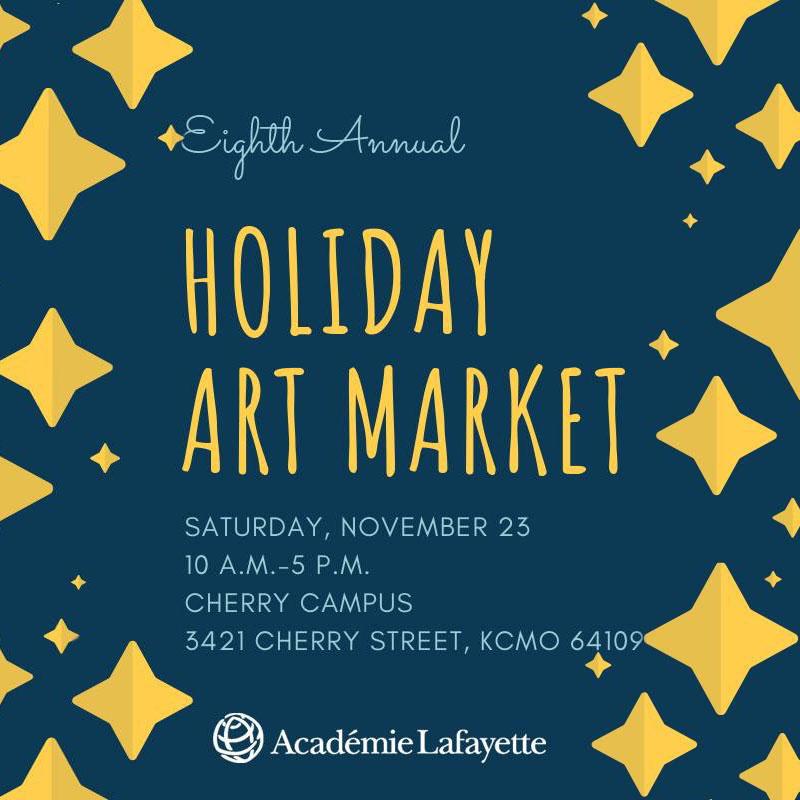 Academie Lafayette Holiday Art Market