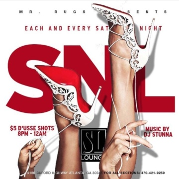 #SLLoungeATL NFL Day Party Watch