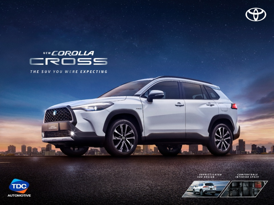 Toyota Corolla Cross available at TDC Automotive Division
