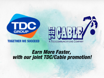 TDC Group and The Cable Joint Promotion