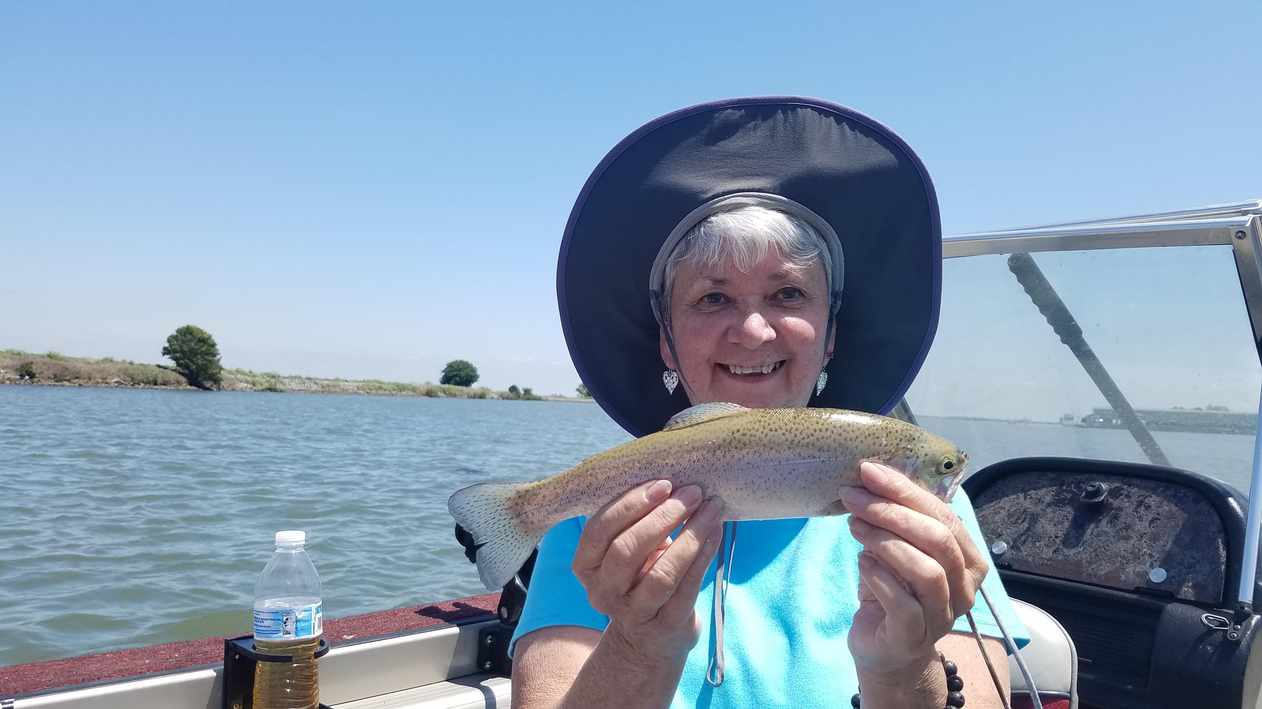 Friend caught a fish!