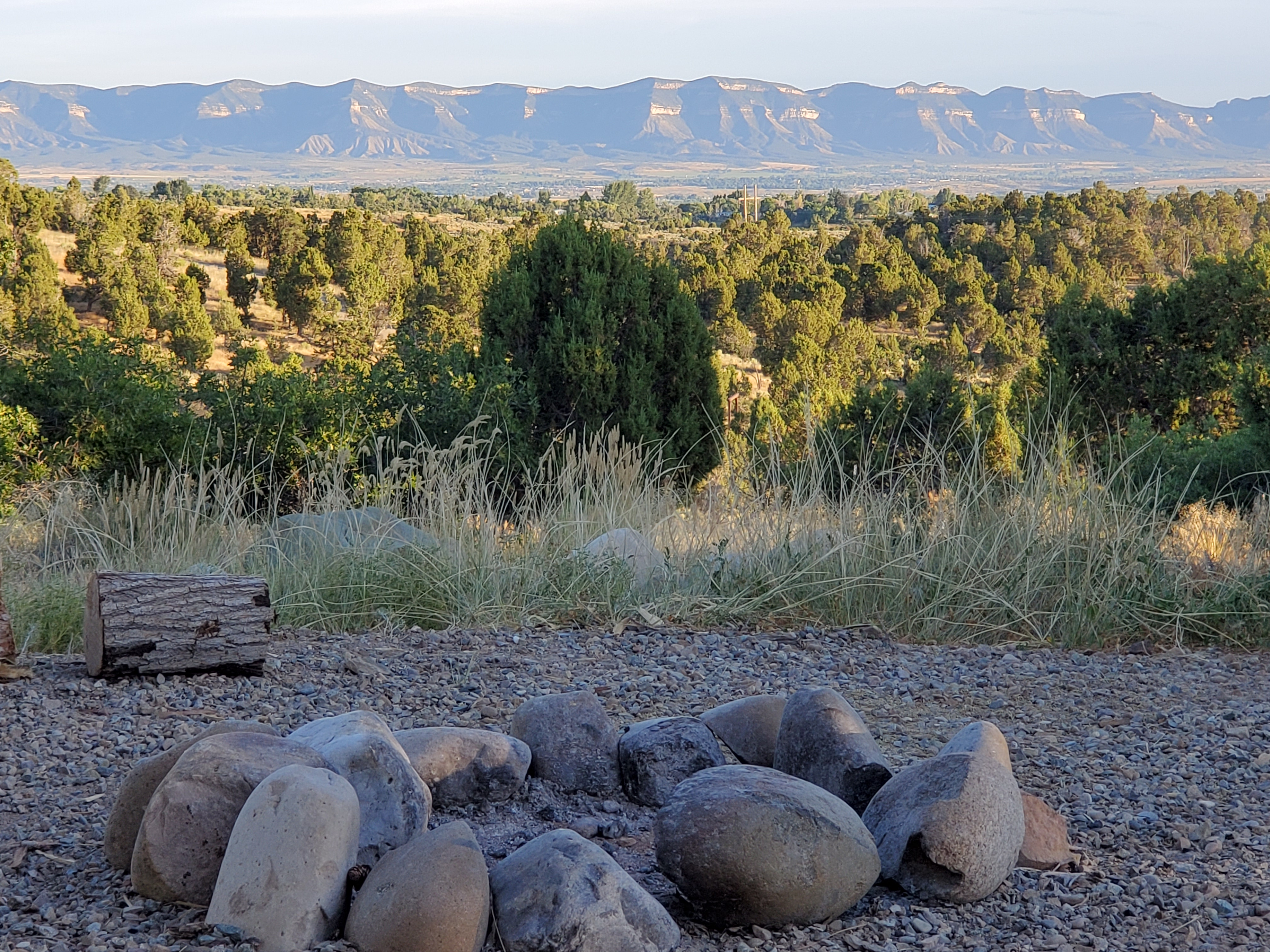 View from Site 10 at The Views RV Park