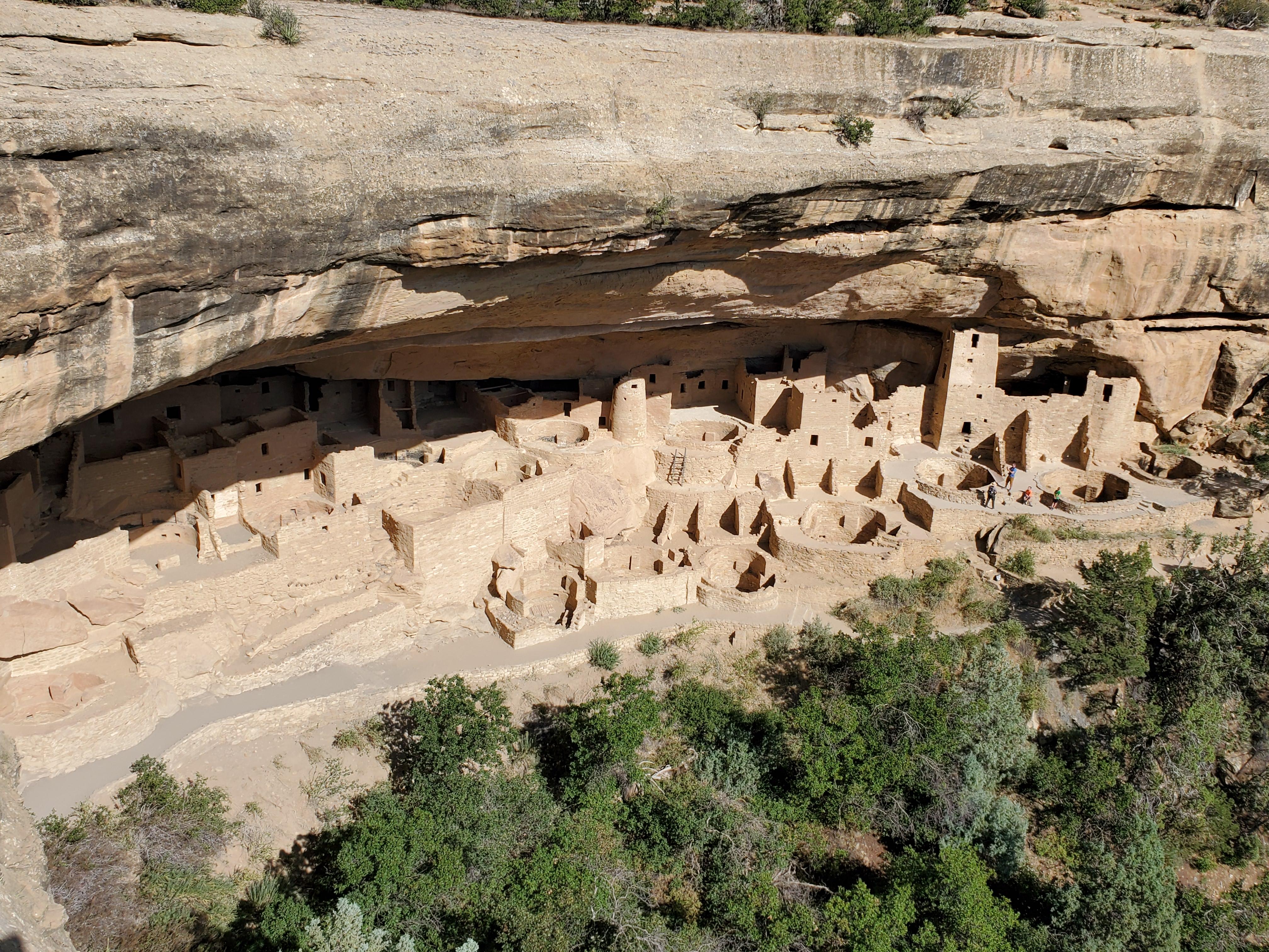 Cliff Palace at Mesa Verde NP