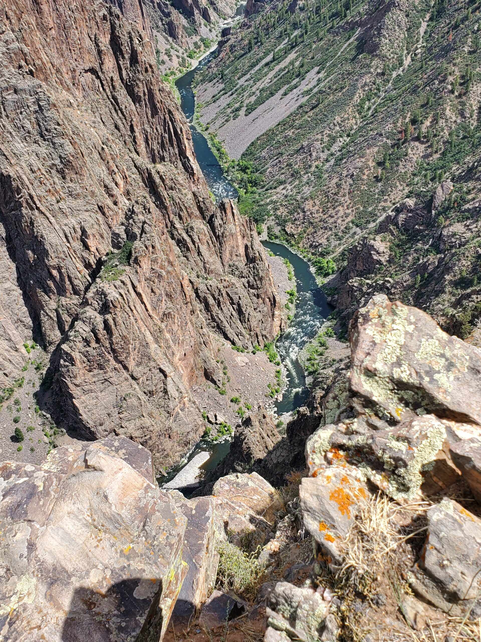 View from Black Canyon of the Gunnison N.P.