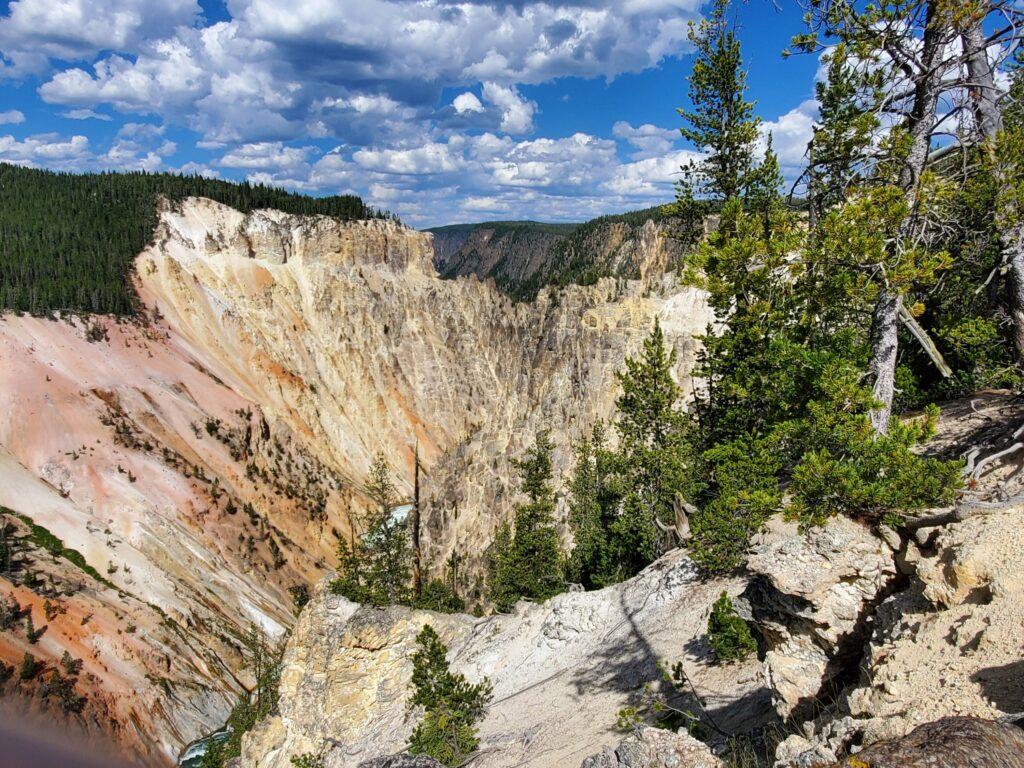 Artist Point, Yellowstone NP
