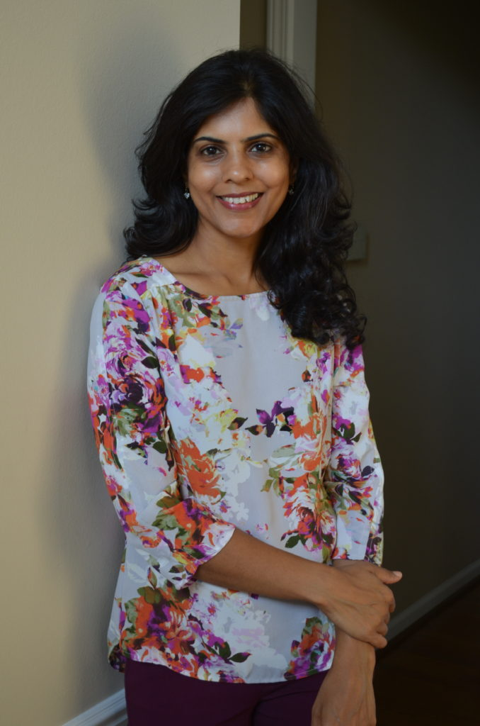 Poornima Samandur is a registered dietitian and certified diabetes educator who provides personal nutrition therapy
