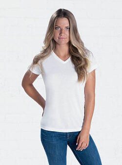 Ladies V-neck Tee shirt