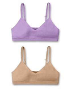 girls in sports bras