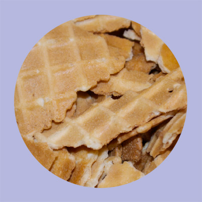 Topper's Craft Creamery Waffle Pieces Topping