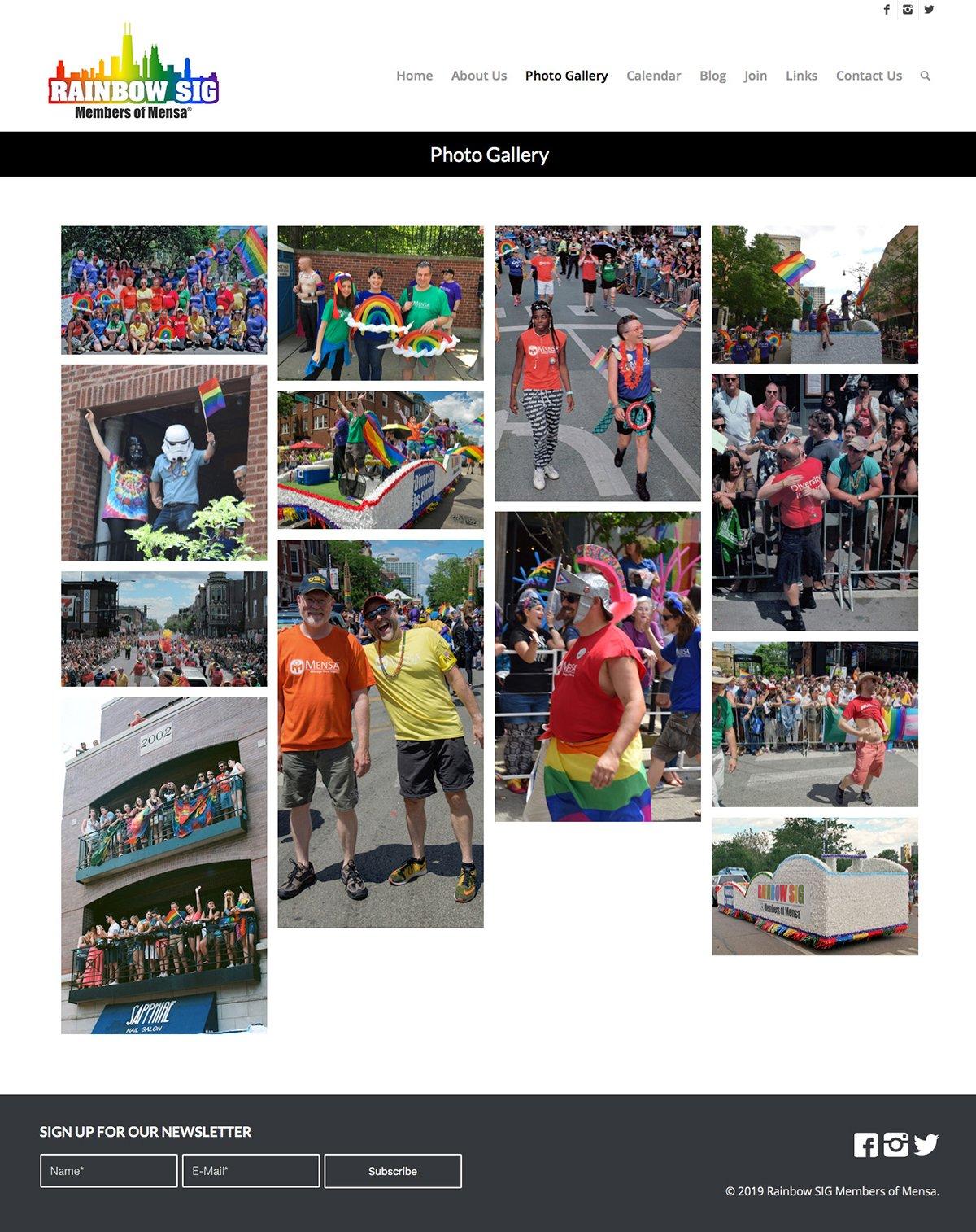 Rainbow SIG Photo Gallery