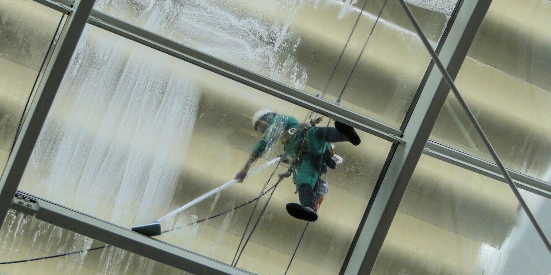 Power Washing Ceiling