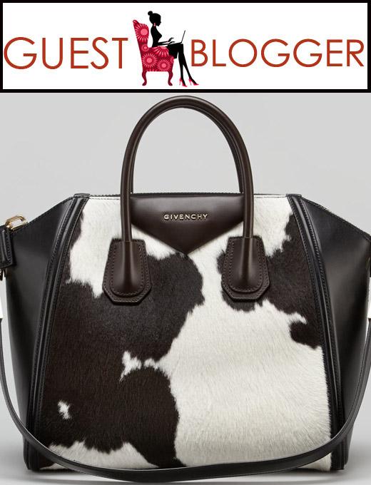 Cow hide Givenchy antigona