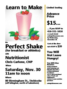 Learn to Make the Perfect Shake1