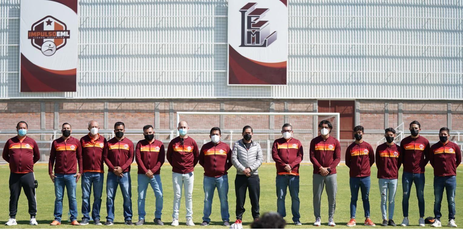 Edgar González apoya a 700 niños y adolescente en fútbol soccer a través de Impulso EML