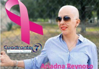 Sobrevive al cáncer de mama y hoy agradece a Dios, a la vida, a muchas personas