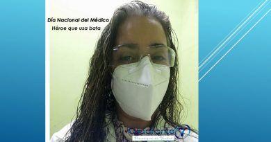 Dra. Ana Elvira Torres, ser médico y acompañar a sus pacientes es su vida