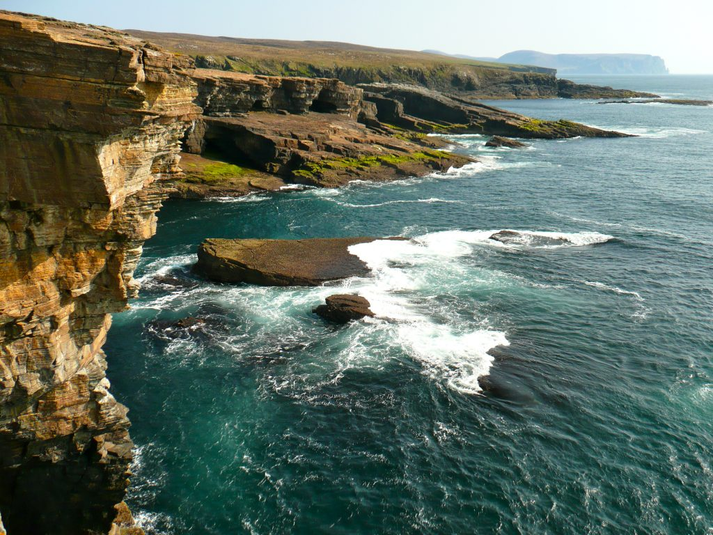 Birsay cliffs