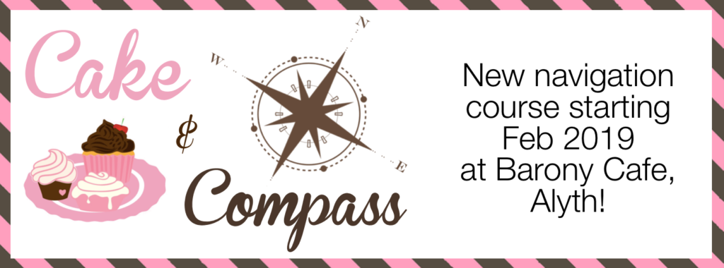 Cake and Compass 8 week navigation course by Five Senses at the Barony Cafe, Alyth