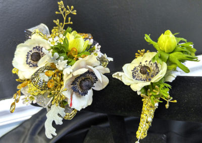 Prom Corsage and Boutonniere The Flower Diva near Charlotte NC