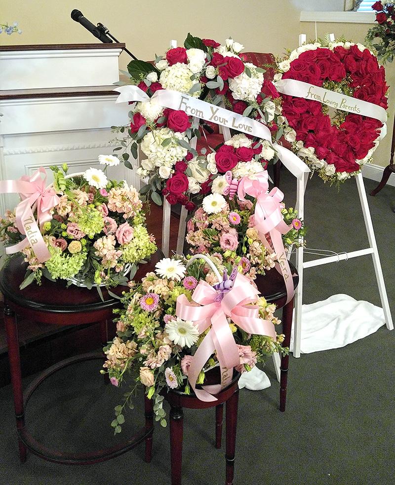 Sympathy Flower Arrangements For Funeral