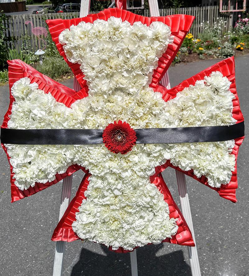 Sympathy Wreath Design
